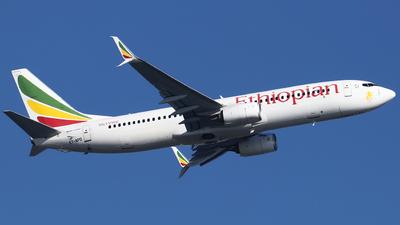 ET-APO - Boeing 737-860 - Ethiopian Airlines
