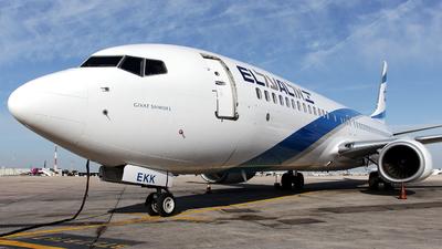 4X-EKK - Boeing 737-85R - El Al Israel Airlines