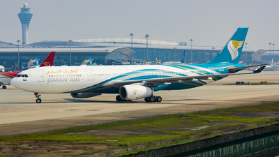 A picture of A4ODE - Airbus A330343 - Oman Air - © Lywings