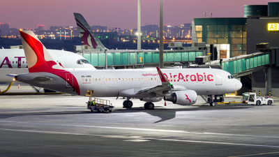 A6-ANQ - Airbus A320-214 - Air Arabia