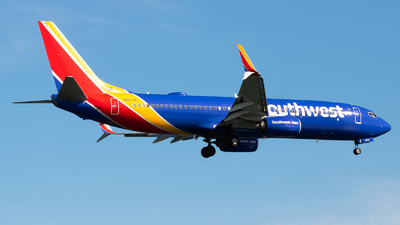 A picture of N8672F - Boeing 7378H4 - Southwest Airlines - © Yishai Howe