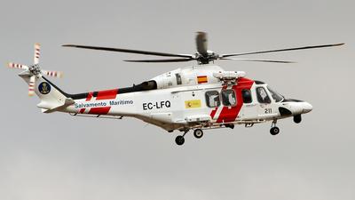 EC-LFQ - Agusta-Westland AW-139 - Spain - Sociedad de Salvamento y Seguridad Marítima (SASEMAR)