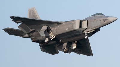 04-4079 - Lockheed Martin F-22A Raptor - United States - US Air Force (USAF)