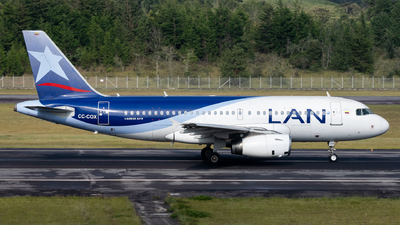 CC-COX - Airbus A319-132 - LAN Airlines