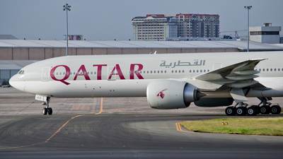 A7-BAS - Boeing 777-3DZER - Qatar Airways