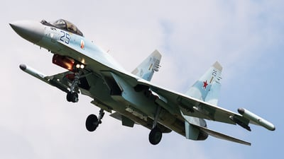 RF-95495 - Sukhoi Su-35S - Russia - Air Force