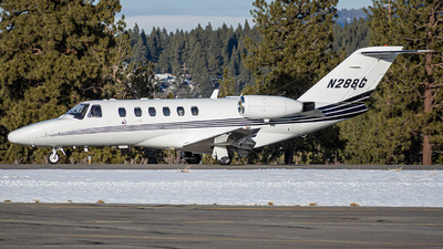 N288G - Cessna 525 Citationjet CJ2 - Private