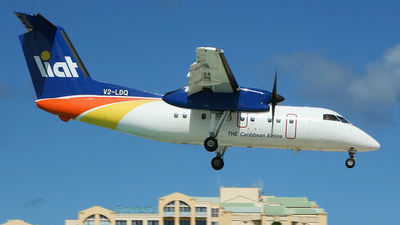 V2-LDQ - Bombardier Dash 8-102 - Leeward Islands Air Transport (LIAT)