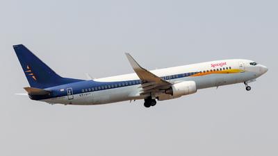 VT-SYY - Boeing 737-85R - SpiceJet