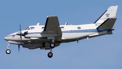 A picture of N720C - Beech A100 King Air - [B171] - © Eric Page Lu