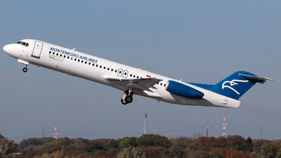 A picture of 4OAOP - Fokker 100 - Montenegro Airlines - © Lars Rohde