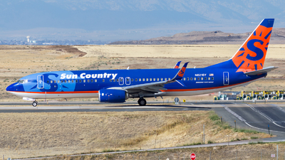 A picture of N821SY - Boeing 7378FH - Sun Country Airlines - © HA-KLS