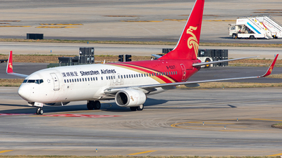 A picture of B5317 - Boeing 73786N - Shenzhen Airlines - © Yan Shuai