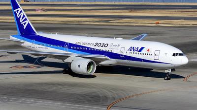 JA744A - Boeing 777-281(ER) - All Nippon Airways (ANA)