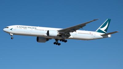 B-KQH - Boeing 777-367ER - Cathay Pacific Airways