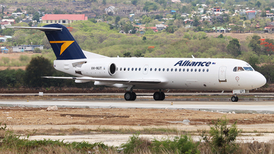 A picture of VHNUY - Fokker 70 - Alliance Airlines - © Arif Maulana
