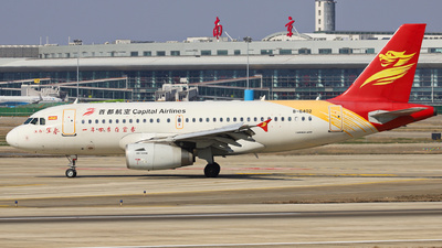 A picture of B6402 - Airbus A319132 - Capital Airlines - © Fang Xiaoyu