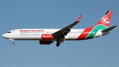 5Y-KYE - Boeing 737-8Q8 - Kenya Airways