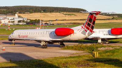 A picture of GSAJS - Embraer ERJ145EP - Loganair - © Ethan Hew - p_nilly