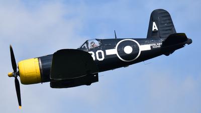 G-FGID - Goodyear FG-1D Corsair - Private