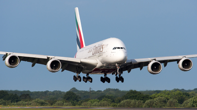 A6-EOY - Airbus A380-861 - Emirates