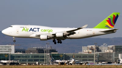 TC-ACG - Boeing 747-481(BDSF) - ACT Airlines