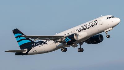 5A-ONL - Airbus A320-214 - Afriqiyah Airways
