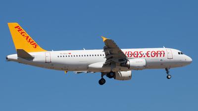 TC-DCJ - Airbus A320-214 - Pegasus Airlines