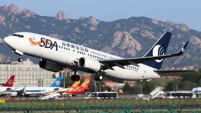A picture of B5118 - Boeing 73785N - Shandong Airlines - © TAORUNWAY35