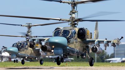 RF-13440 - Kamov Ka-52 Alligator - Russia - Army