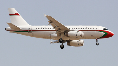 A4O-AJ - Airbus A319-133(CJ) - Oman - Royal Flight