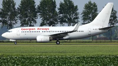 A picture of 4LGTI - Boeing 7377CT - Georgian Airways - © R. Eikelenboom