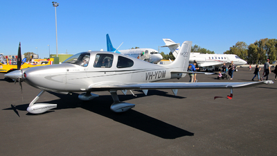 VH-YDM - Cirrus SR22 - Private