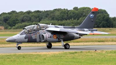 AT-29 - Dassault-Breguet-Dornier Alpha Jet 1B+ - Belgium - Air Force