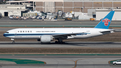 A picture of B2075 - Boeing 777F1B - China Southern Airlines - © Yixin Chen