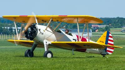 SP-YWW - Boeing N2S-3 Stearman [75-1204] - Flightradar24