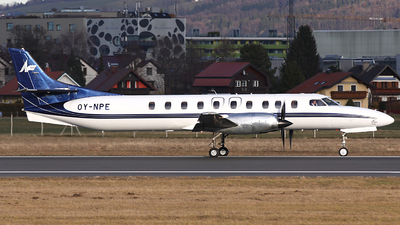A picture of OYNPE - Fairchild Swearingen Metroliner - North Flying - © Heidi Wanninger