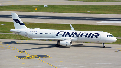 A picture of OHLZU - Airbus A321231 - Finnair - © Jeremy Denton