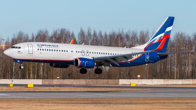 VQ-BHD - Boeing 737-8LJ - Aeroflot
