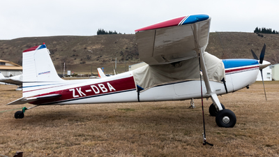 ZK-DBA - Cessna 180K Skywagon - Private