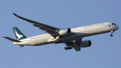 A picture of BLXL - Airbus A3501041 - Cathay Pacific - © Akbarali Mastan