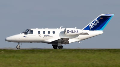 D-ILHA - Cessna 525 CitationJet 1 - European Flight Academy