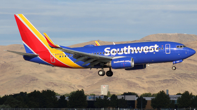 N7874B - Boeing 737-7Q8 - Southwest Airlines