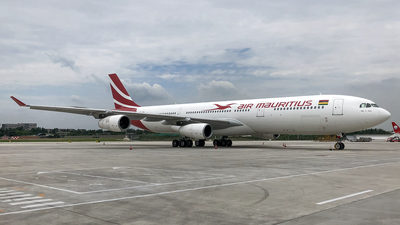 3B-NBE - Airbus A340-313X - Air Mauritius