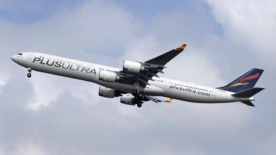 EC-NFQ - Airbus A340-642 - Plus Ultra Líneas Aéreas