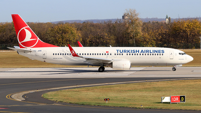 TC-JHN - Boeing 737-8F2 - Turkish Airlines