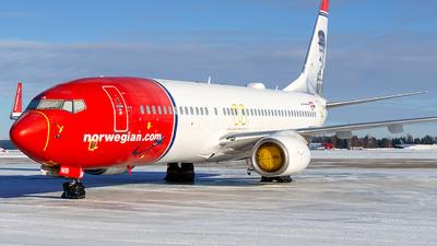 A picture of LNNIB - Boeing 73786J - Norwegian - © Laszlo Fekete