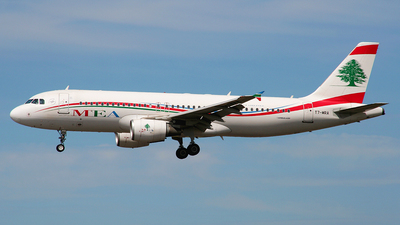 T7-MRA - Airbus A320-214 - Middle East Airlines (MEA)