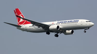 TC-JHZ - Boeing 737-8F2 - Turkish Airlines