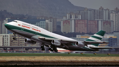 VR-HOM - Boeing 747-367 - Cathay Pacific Airways